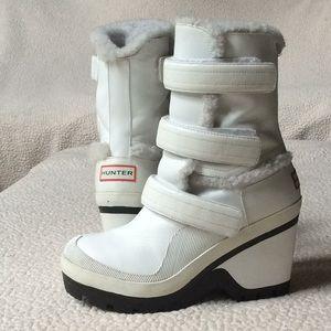 Platform Hunter Snow Boots